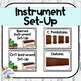 Orff Instrument Rule Posters and Labels (Farmhouse)