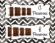Orff Instrument Rules Posters - Black Watercolor Chevron