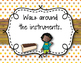 Orff Instrument Rules Posters - Polka Dots/Wood