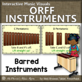 Orff Instrument Set Up {Interactive Music Visuals}
