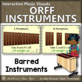 Orff Instrument Set Up {Interactive Music Visuals}