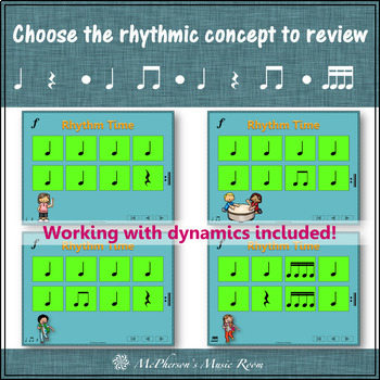 Orff Lesson Elementary Music ~ Drumming a Round: Rhythm, Instrument, Composition