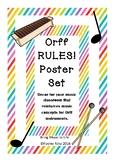 Orff Poster Set