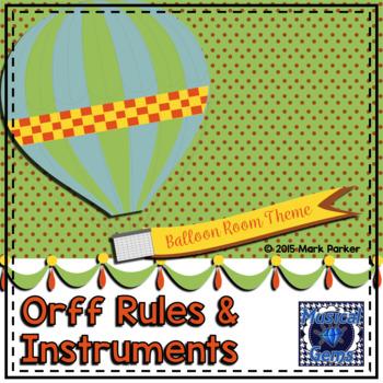 Orff Posters-Balloon Theme