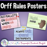 Orff Rules Posters