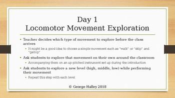 Orff Schulwerk Movement Exploration