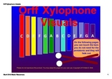 Orff Xylophone SMARTboard Visuals