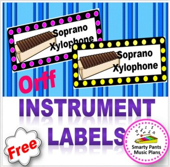 Orff instrument labels {FREE}
