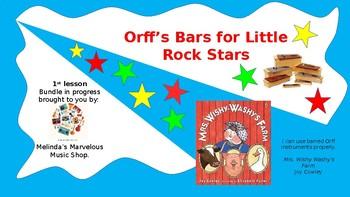 Orff's Bars for LIttle Rock Stars Bundle
