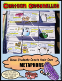 Organelles Cartoon or Animation Foldable - Metaphors