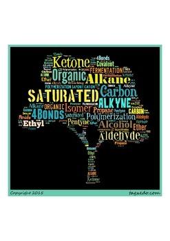 Organic Chem Word Wall