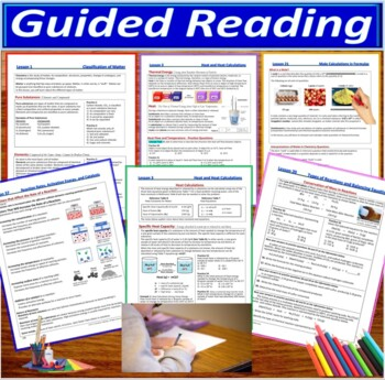 Organic Chemistry 5-Product Bundle: HS Chemistry Notes, Worksheet..etc