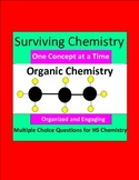Organic Chemistry - Engaging Multiple Choice Question Sets for HS Chemistry