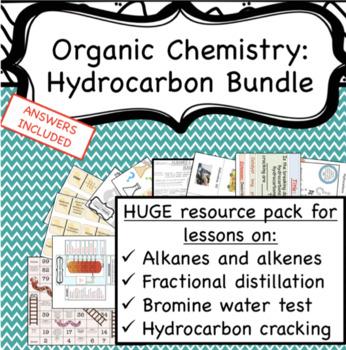 Organic Chemistry Hydrocarbons Bundle