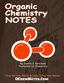 Organic Chemistry Lecture Notes - First Semester