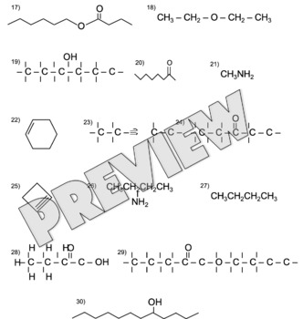 Organic Chemistry Nomenclature Assignment