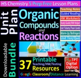 Organic Compounds & Reactions Topic Bundle: 4 Essential Sk