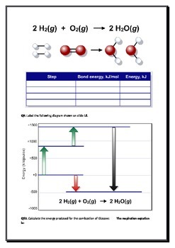 Organic Chemistry Part D - Energy from Foods