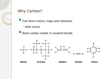 Organic Chemistry Presentation (high school chemistry functional groups)