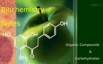 Organic Compounds & Carbohydrate Notes