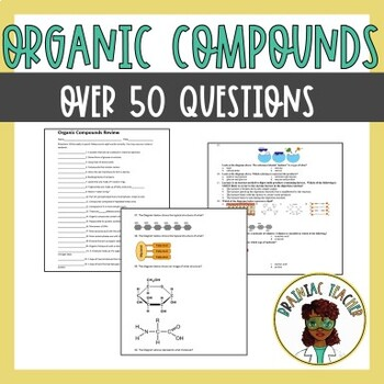 Organic Compounds(Carbohydrates, Protein, Lipids, and Nucl
