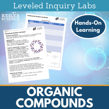 Organic Compounds Inquiry Labs