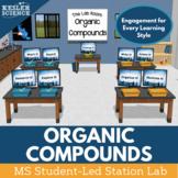 Organic Compounds Student-Led Station Lab