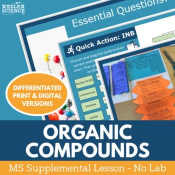 Organic Compounds - Supplemental Lesson - No Lab