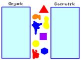 Organic Geometric Shape Sort