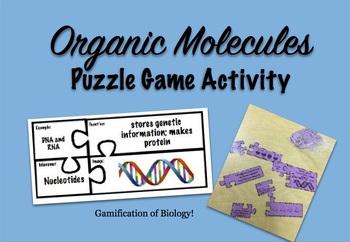 Organic Molecules Puzzle