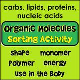 Organic Macromolecule Sorting Activity