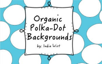 Organic Polka Dot Background