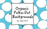 Organic Polka Dot Background