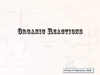 organic reactions teaching resources teachers pay teachers