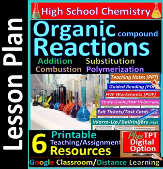 Organic Reactions; Addition, Substitution: Essential Skills Lesson #47