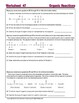 Organic Reactions; Addition, Substitution: Essential Skills Worksheet #47