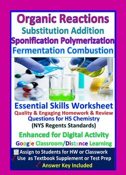 Organic Reactions; Addition, Substitution: Essential Skills ...