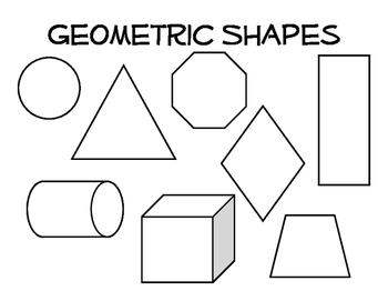 Organic and Geometric Shape Coloring Page by Excuse the ...