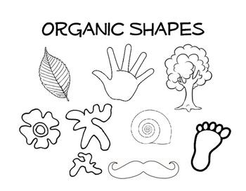 Organic Line Art Definition