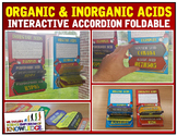 Organic and Inorganic Acids Accordian Foldable