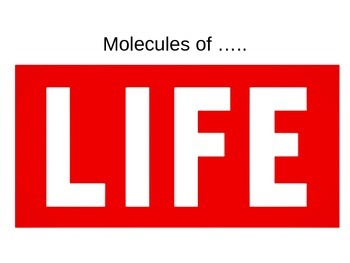 Organic and Inorganic compounds: Molecules of Life