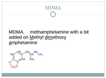 Organic chemistry and functional groups adrenaline and amphetamines