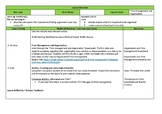 Organisation and Time Management Lesson Plan
