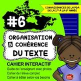 Cahier interactif #6 / Écriture des texte en français / Fr
