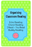 Organising Classroom Reading