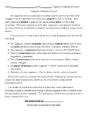 Organism Adaptation Project