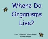 Organism Habitats - Smartboard