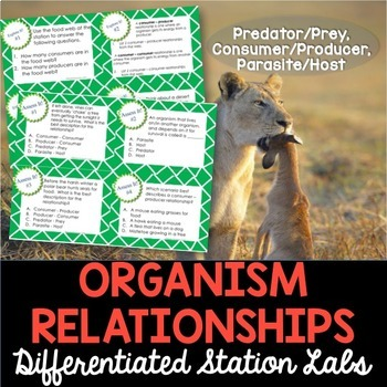 Organism Relationships Student-Led Station Lab