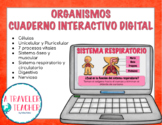 Organismos Cuaderno Interactivo Digital  (Distance Learning)