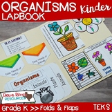 Organisms Lapbook (Plants and Animals)- Kindergarten {TEKS}